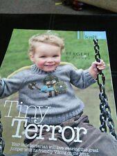 Tiny Terror Knitting Pattern for child's Viking Motif Pull