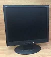 Genuine Acer (AL1912) 19 Inch Black Computer Monitor Only W/ Oval Stand **READ**