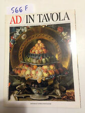 AD/IN TAVOLA - Supplemento a AD le più belle case del mondo -1994- G.Mondadori