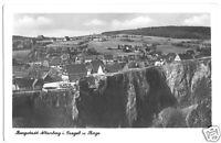 AK, Altenberg Erzgeb., Teilansicht mit Pinge, 1953