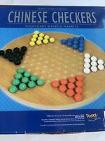 Family Game Classics Chinese Checkers Wood Game Board Fundex 5340