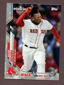2020 Topps Opening Day Walk This Way Rafael Devers    ##WW15