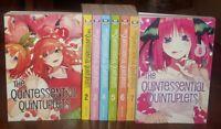 The Quintessential Quintuplets Manga Lot Volumes 1-9 English Graphic Novel