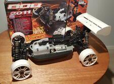 XRAY 1/8 Nitro XB808 Buggy Luxury Pro Kit 2011 upgrade spec XB 808