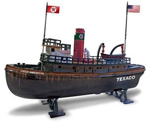 "Round 2 CP7525 9"" Texaco Latin American Tugboat #10"