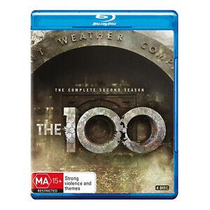 The 100: Season 2 Blu-ray (4 Disc Set) Brand New Region B Aust. - Eliza Taylor