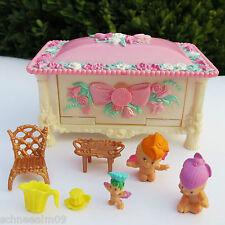Fairy Winkles Jewelry Box Puppenhaus Schmuckdose 3 Original Babys Kenner