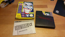 Batman Return of the Joker Nintendo NES PAL B CIB OVP BOXED