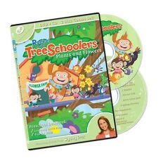 TreeSchoolers 2: Plants and Flowers DVD + CD