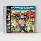 Board Game Top Shop PlayStation 1 PS1 Console Game Complete & Very Good