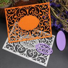 Frame Metal Cutting Dies Stencils for DIY Scrapbooking/photo album Cards Decor ^