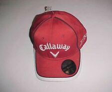 Callaway Hex Black Tour X Hot  Odyssey Adult Unisex Red White Cap One Size New