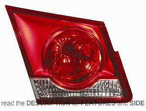 Taillight Unit Chevrolet Daewoo Cruze From 2009 Left 96830489