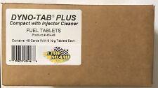 Dyno-tab® Plus Injector Cleaner 6-tab Case of 48 Dynotab cards for Gas & Diesel
