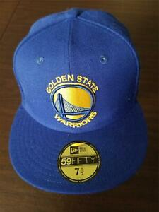 New Era Cap Golden State Warriors 59Fifty 7 1/2 westen conference badge hat NEW