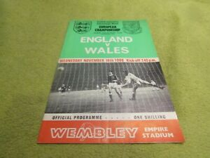 England v Wales - European Championship FA International in 1966 at Wembley