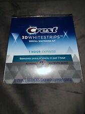 Crest 3D White  Whitestrips 1 Hour Express Whitening  Jun 2021
