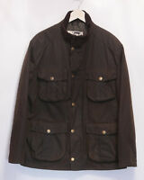 £229 Mens Barbour Winter Utility smart olive waxed quilted jacket Large XL
