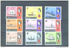 GIBRALTAR - 1967 Ships Hinged Mint