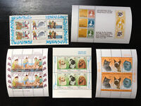 MNZ103) New Zealand 1980 - 1983 Health, Stamp Anniversary Minisheets MUH