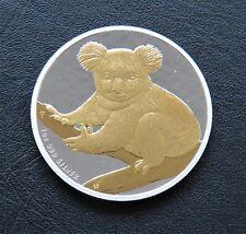 Koala 2009 -  silver gilded