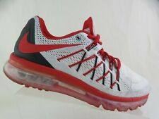NIKE ID Air Max 360 White/Red Sz 9 W Wide Men Running Shoes