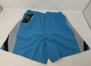 """UNDER ARMOUR MEN'S LAUNCH 5"""" RUNNING / GYM SPORTS SHORTS BLUE GREY NEW, SMALL!"""