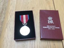 Medal Queens Diamond Jubilee Medal EIIR 2012 Official Issue complete with box