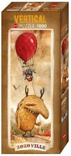 """NEW Heye Jigsaw Puzzle Game 1000 Pieces Tiles """"Zozoville Red Balloon"""""""