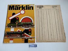 Catalogue - Marklin 1974 - FR