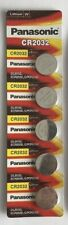 5x Genuine PANASONIC CR2032 3V Lithium Batteries 3M Speedglas