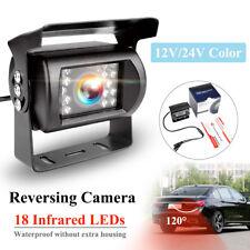 Waterproof 18 IR LED Night Vision 12V Car Rear View Reverse Reversing CCD Camera