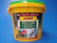 Sera Pond biogranulat Pellet Food 550g