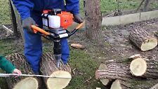 Log Wood Splitter Cone Ø 80mm for Gasoline Earth Auger Petrol Log Splitter USA