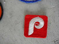 VINTAGE Embroidered Patch Philadelphia Phillies LOOK