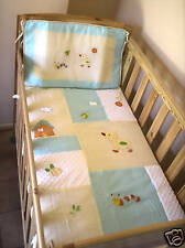 Brand New Bubba Blue Sunny Days Cot Quilt And Topper Set soft warm baby boy girl