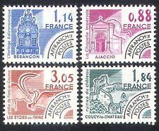France 1981 monuments/Horloge/peinture/ROCK ART/bâtiments/Pré-annuler 4 V Set n40245