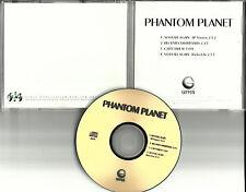 PHANTOM PLANET 4 Track Sampler w/ RADIO EDIT 1998 TST PRESS PROMO Dj CD Single