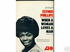 ESTHER PHILLIPS - full-page BILLBOARD ad w/photo - 1966