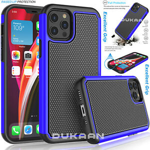 Shockproof Matte Tough Case Cover for iPhone 12 Pro Mini 11 XS X 8 7 6 SE 5C 5