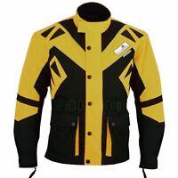 Rad-Masters, Motorradjacke textil Cordura Textilien Motorrad Komobi-jacke Gelb