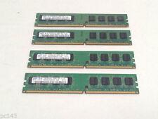Mémoires RAM, 2 Go par module avec 4 modules