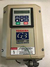 Toshiba G3 TOSVERT-130 Transistor Invertor  2.5KVA 2HP 50/60HZ (U71)