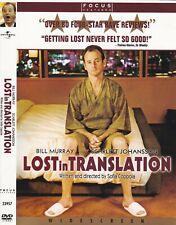 Lost in Translation (Dvd, 2004, Widescreen) Scarlett Johansson