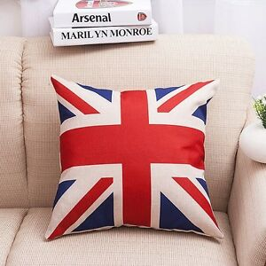 Lovely Flag Cotton Linen Eiffel Throw Pillow Case Cushion Cover Home sofa Decor
