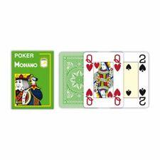 Modiano Poker Jeu de Cartes 100% Plastique Vert Clair