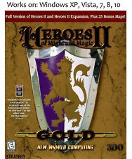 Heroes of Might and Magic II 2 Gold Edition PC Game 1996