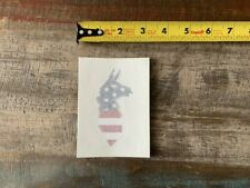 """Cotapaxi USA American Flag Llama Hiking Backpack Sticker/Decal Vinyl Approx 3"""""""