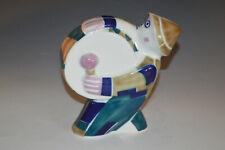 Vintage MCM Sargadelos Abstract Modernist Spanish Pottery Drummer Figurine 1960s