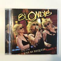 """BLONDIE - RARE PROMO """"LIVE BY REQUEST"""" + 2 BONUS - ♦ CD ALBUM ♦"""